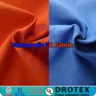 EN11611 Soft hand Permanent FR Modacrylic Cotton Blend fabric For Fire retardant Modacrylic cotton mixtured fabric