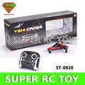 Venta caliente en todo el mercado de diseño especial 2ch rc ovni volando anfibio de juguete plano st-0920