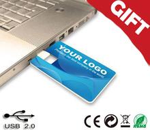 Promotional 2gb 4gb 8gb business card usb flash memory