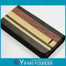 2014 New arrival Unique design wood case for iphone 5&5S
