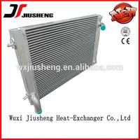 Vacuum Brazed Aluminum Plate -bar radiator cooling fan motor 24v /water cooler/water heat exchanger