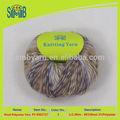 2015 china fábrica de fios de lã grosso fios multicoloridos