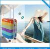 PC light cabin trolley luggage with tsa lock