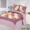 Luxury design quilt fabric patchwork bed set factory wholesale