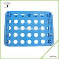 Migliore qualità e prezzo bottiglia di plastica titolare blu m-001 scatola di latte