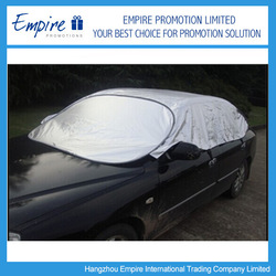 New material aluminium cool summer insulated easy folded car cover