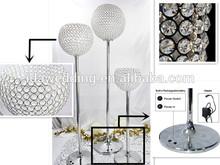 Halloween Decor Giant Fiber Marbelize Crystal Ball Lighted Pillar