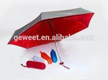 small sun five fold umbrella