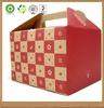 Kraft paper cake boxes, accept customized logo printing ,take away food packaging box.