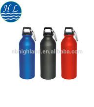 700ml black aluminum water bottle/sport bottle