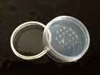 white transparent 5ml cosmetic jar cosmetic sifter jars