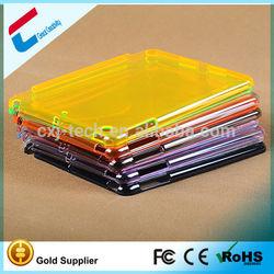 For iPad mini 2 retina Ultra Thin Transparent PC Case many colors for choice