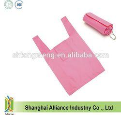 Hot sale Custom Nylon Folding Shopping Tote Bag