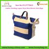 Leather Handbag Lugano Royal Blue Women Hand Bags Leather Sport Tote