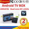 AML8726 Dual-core Android 4.2 Smart tv stick 2GB/8GB Android TV Box Remote Control