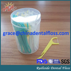 High Quality Plastic Floss Pick With Flavor