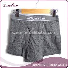 Confortable taille mans sous - vêtements boxers