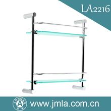 LONGAN new wall mount floating glass shelf