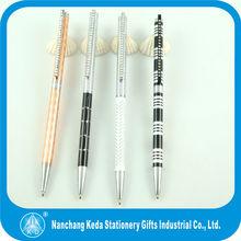 2014 luxurey stationery super junior new design custom promotional pens with rhinestone