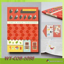 WT-COB-1098 fashionable flip book printing