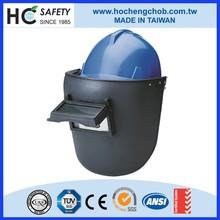 en379 welding safety helmet visor protector ear muffs