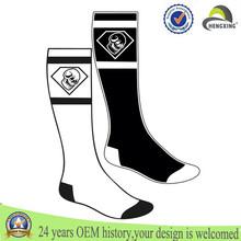 Custom mid calf socks