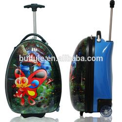 school trolley bag backpack children cartoon luggage