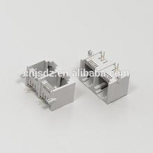 Muti-port 1*2 port RJ11 Side entry Telephone Socket/Jack