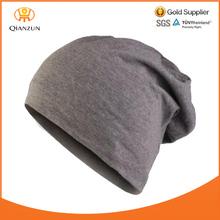 grey adult 100 cotton sports baggy hat beanie summer men cotton beanie hats for men