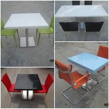 Kingkonree food court sedie tavoli/bambini tavolo e sedie/portatile tavolo pieghevole con sedie