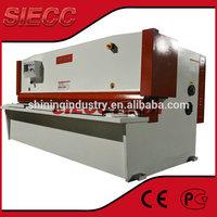 MADE IN SIECC FACTORY QC12Y SERIES SHEET METAL PLATE GUILLOTINE SHEAR MACHINE 2015 NEW DESIGN