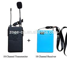 18 Channels PLL AAA Battery Powered High Class Speaker