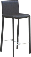 Unique design PU leather high chair bar stool/ bar stools high chair/Bar stool with back