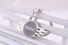 Mini- car standard keychain vine promise new shelves gift keychain MINI logo key