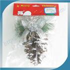 New Design Top Sale Hanging Christmas Pine Cones Decoration