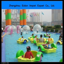 [2014 HOT !!]children's favorite kids paddle boat water park amusement for pool one person paddle boat electric paddle boats