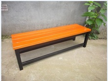 Outdoor cheap park bench material