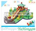 gigante inflable de la diversión parque parque de atracciones inflables juegos jugados por adultos y niños