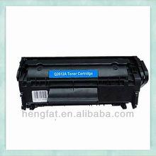 Compatible HP 12A Toner Cartridge For HP 1012 Printer , 11 years toner cartridges manufacturer HENGFAT