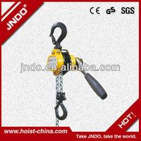 250kg 750kg portable small hoist lift lever hoist