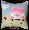 Wholesale custom otaku hand sofa bed case fireproof british car pipe embroidered pillow covers 18 x 18