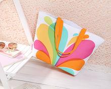 DQ-AlBB02 2014 Fashion Romantic Bright-coloured Shoulder Bag Beach Bag