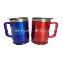14oz Stainless Steel Office Coffee Mug Travel Mug Tea Coffee Cup