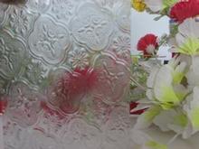 YIZHI artistic&decorative&fashionable patterned glass with ISO9001