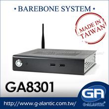 GA8301 computer cases manufacturer mini pc barebone
