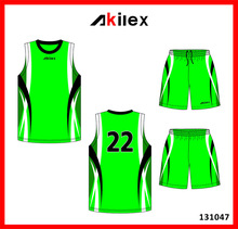 2014 summer cheap sublimation design basketball wear with OEM service
