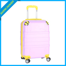 Fancy ,press-resistance ,light weight ,newest design ABS trolley luggage