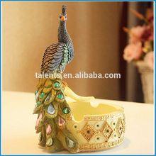 resin peacock statues, resin peacock ornaments