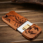 Factory Natural Bamboo Wooden Case For iPhone 5 5s With Wood Special Design Phone case for iPhone 5s Unique Back cover newest!