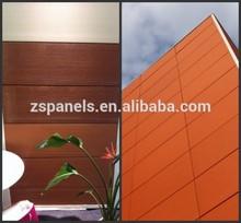 Terracotta facade system, ventilated facade, cladding work